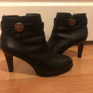 Women's Leather Tory Burch Booties